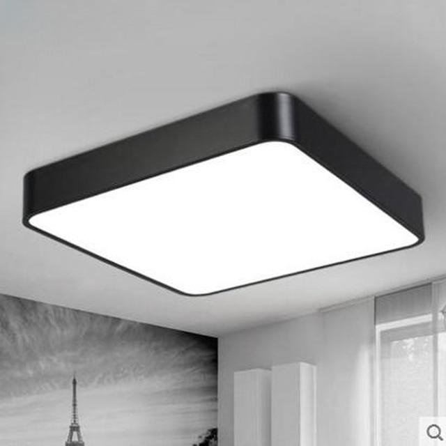 LED Square Ceiling Light Modern Simple Rectangular Aisle ...