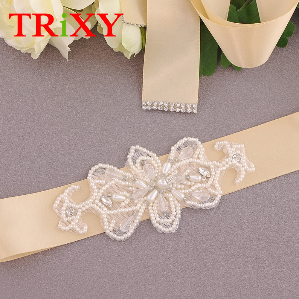 Back To Search Resultsweddings & Events Trixy S71 Rhinestones Pearl Thin Wedding Belts Wedding Sash Pearls Beaded Bridal Belts Sash Dress Belt Bridesmaid Belt Sashes
