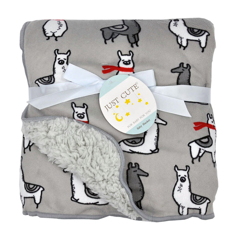 Cute Cartoon Newborn Baby Blanket Coral Fleece Baby Swaddle Super Soft Baby Wrap for Infant Baby Bedding Blanket Size 102cm76cm (7)