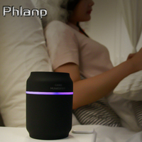Phlanp 3 In 1 200ml USB Can Shape Air Humidifier 7 Color LED Aroma Lamp Essential