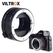 Viltrox DG NEX الإطار الكامل السيارات التركيز ماكرو تمديد أنبوب عدسة محول لسوني E جبل كاميرا A9 A7II A7RII A7SII A6500 A6300