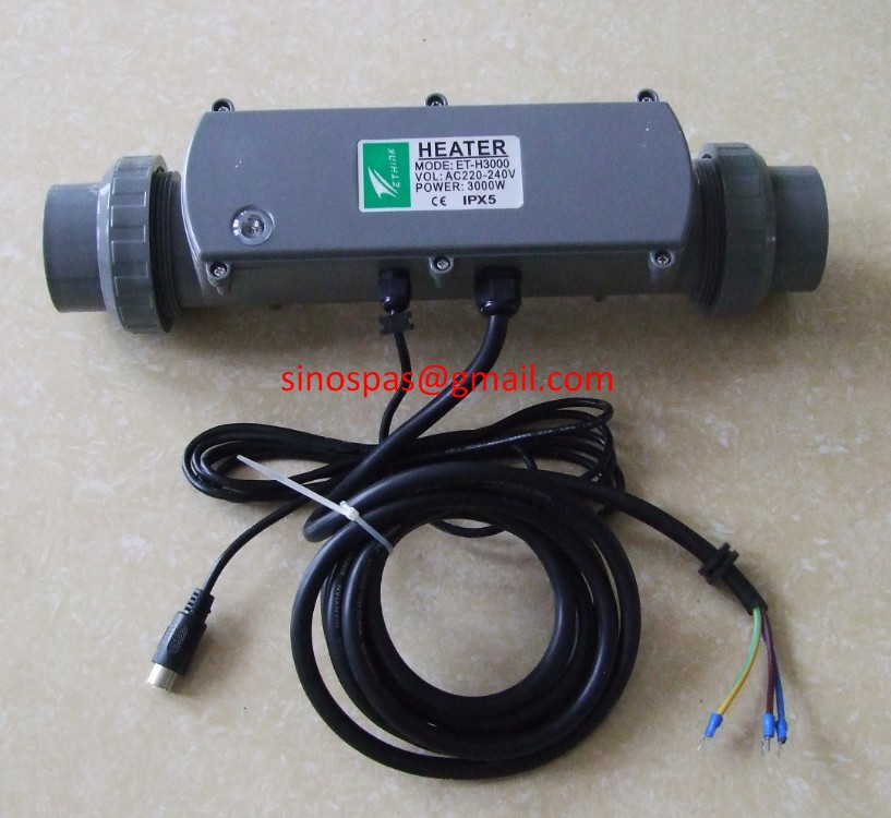 ୧ʕ ʔ୨Spa Heizung & pool hot tub heater ET-H3000 IPX5 improved ...