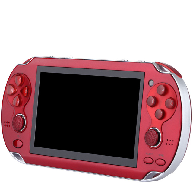 New Handheld Game Console 8GB Memory 32 Bit portable video game double Rocker built-in 1000 free games Support TV Out Put 4