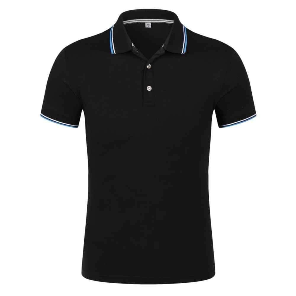 Men Clothes 2019 Top Tees Men Polo Shirt Short Sleeve Polo Shirt 8Color Cotton Slim Polos Para Hombre plus size