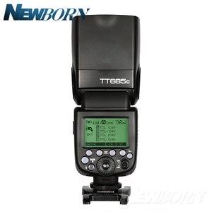 Image 2 - Godox TT685C TTL Flash Della Fotocamera 2.4 GHz Ad Alta Velocità 1/8000 s GN60 + Xpro C TTL Wireless trasmettitore per Canon Eos Macchina Fotografica + Regalo