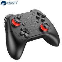 ゲームパッドとジョイスティックを備えたゲームパッド,Bluetoothコントローラー,iPhone,Android,携帯電話用