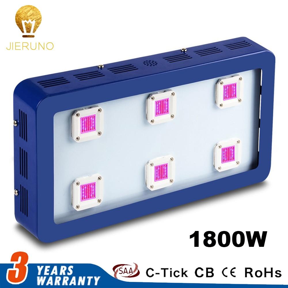 цена на 1800W Dimmable Power LED Grow Light Full Spectrum 300*6W LED Grow Lamps Hydroponics Indoor Garden Medical Plants AC 85-265V AE