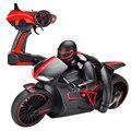 2.4 ГГц Скорость Дистанционного Управления Мотоцикл RC Вождения Модель ЕС Plug Вперед/Blackward/Повернуть Налево Прямо с Света мотоцикл Модели