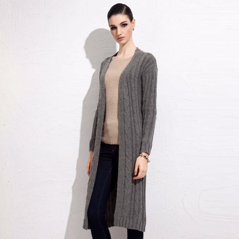 fall winter long cardigan sweater 4
