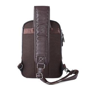 Image 5 - Zebella Brand Men Shoulder Bag Vintage Men Crossbody Bag Men Chest Bags Casual Fashion PU Leather Men Messenger Bag