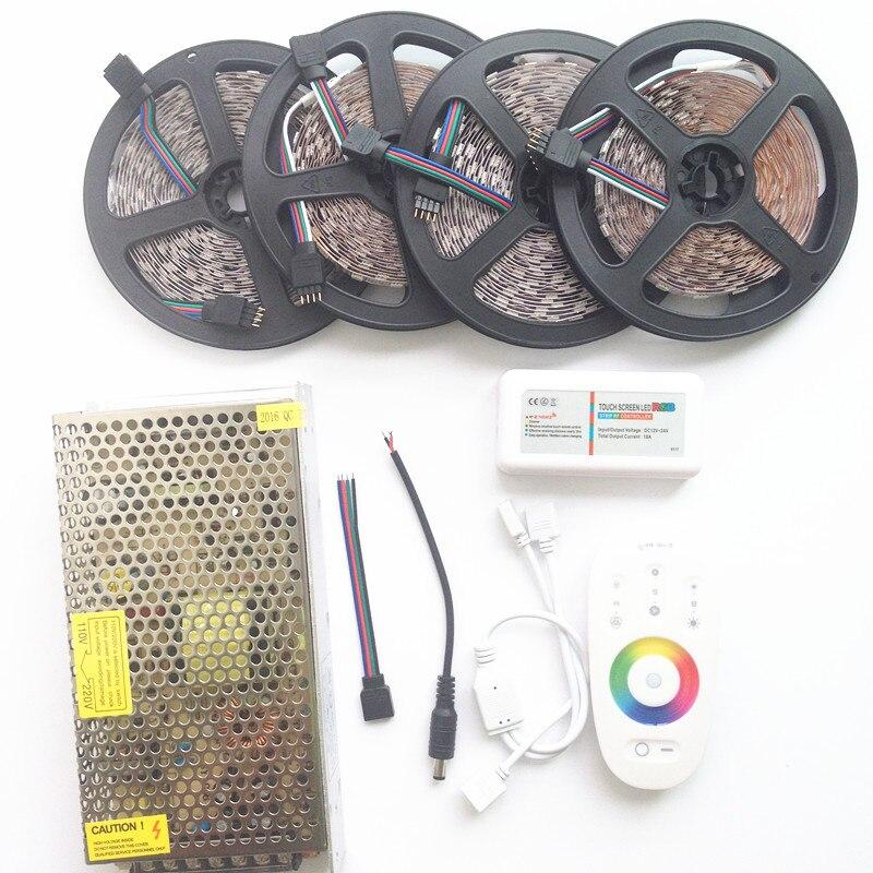 20м СИД 5050 RGB Су өткізбейтін таспа 5м 10м - LED Жарықтандыру - фото 2