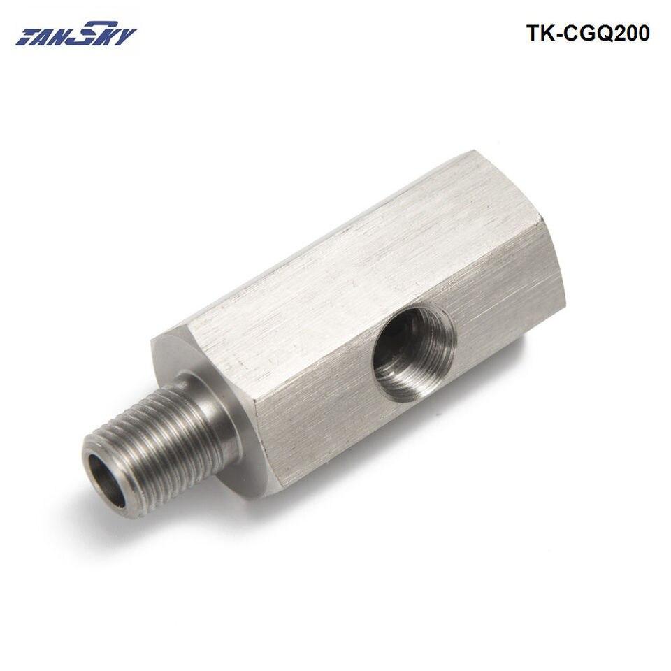 "Adapter Fitting Öldrucksensor 1//8/"" NPT to M12X1.5 Oil Feed Pressure Sensor"