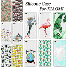 Transparent Soft TPU Case For Xiaomi Mi4 Mi5 Mi 4i 4c Redmi Hongmi Note 2 3 3S Pro Soft Silicone Silicone Phone Cases Back Cover