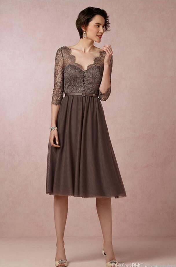 Online Get Cheap Chocolate Brown Gowns -Aliexpress.com | Alibaba Group