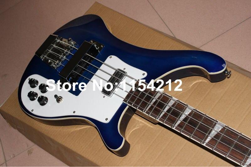 Vicers vente chaude!!! Nouveauté guitare basse électrique 4 cordes de couleur bleue de haute qualité