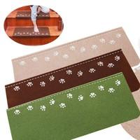 10PCS Luminous Visual Stair Carpet Pad Anti Skid Staircase Mats Bear Claw Glow In Dark Safe