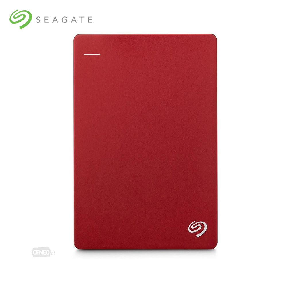 Disques durs externes Seagate Backup Plus Portable, 5000 go, 2.5 '', USB type-a, 3.0 (3.1 Gen 1), 5000 Mbit/s, rouge