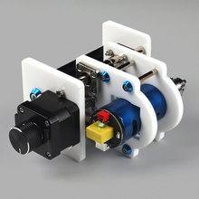 Laser Module Holder Z Axis & Spindle Motor Z Axis Kits Drill Chunk Integrated Set DIY Upgrade Kit for Laser Engraver CNC Router