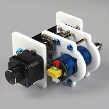 Laser Modulo di Supporto Asse Z e Motore Mandrino Asse Z Kit Trapano Chunk Integrato Set FAI DA TE Kit di Aggiornamento per Laser incisore Router di CNC