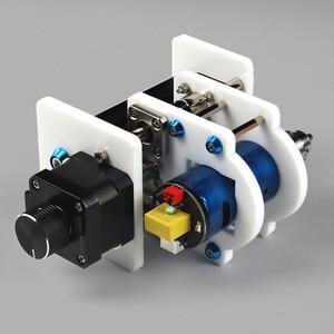 Image 1 - Soporte de módulo láser eje Z y eje Motor Z, Kits de eje Z, conjunto integrado de piezas de taladro, Kit de actualización DIY para grabador láser CNC Router