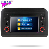 Roadlover Android 9.0 Car DVD Player For Fiat Croma 2005 2006 2007 2008 2009 2010 2011 2012 Stereo GPS Navigation Magnitol 2Din