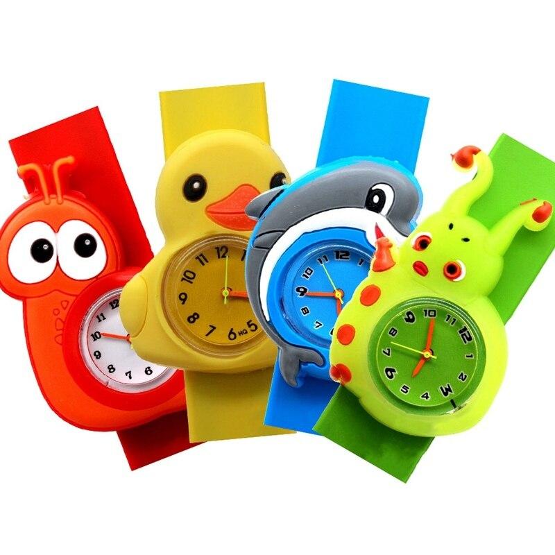 Children's 3D Cartoon Kids Children Baby Toy Clock For Girls Boys Gifts