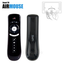 T2 Remote Control Gyroscope Mini Fly Air Mouse 2.4G Wireless receiver for 3D Sense Game PC Google TV Player