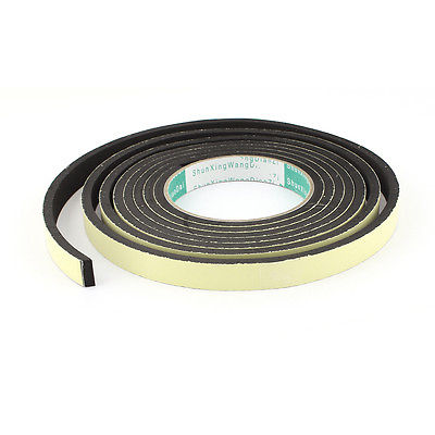 3 Meter 15mm x 5mm Single Side Adhesive Foam Sealing Tape for Door Window single sided blue ccs foam pad by presta