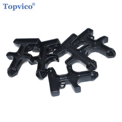 Topvico 5 stks/partij Gemakkelijk Carry Zelfverdediging Stinger Duron Boor Protection Tool Nylon Plastic Persoonlijke Zelfverdediging Levert #2