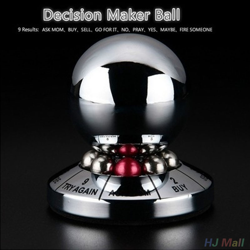Creative Decision Maker Ball Magic Balls Miniature Display Toy