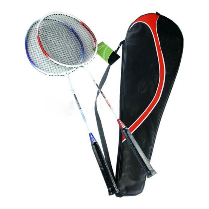 High Quality Universal High-strength  Light Weight Aluminium Alloy Battledore Badminton Racket Racquet With Carry Bag