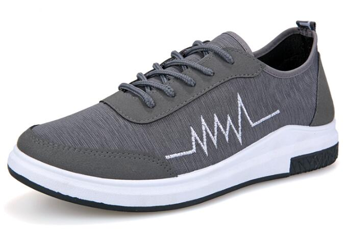 Gray Shoes Men Lace-up Casual Canvas Shoes Male Zapatos Hombre Mens Spring Fashion New British Style Breathable Men Zapatos Shoe 2016 new spring autumn breathable casual shoes for men british style fashion men flat shoes blade mens trainers zapatos hombre