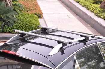 Untuk Benz GLK280-GLK550 2010-15 Satu Set Keperakan Rak Atap Aluminium paduan Tubuh Utama