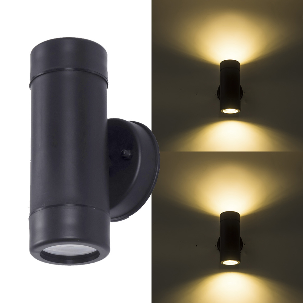 Us 11 59 37 Off Outdoor Garden Wall Light Up And Down Waterproof Porch Lights Home Decoration Lighting Sconce Fixtures Two Side 5w In