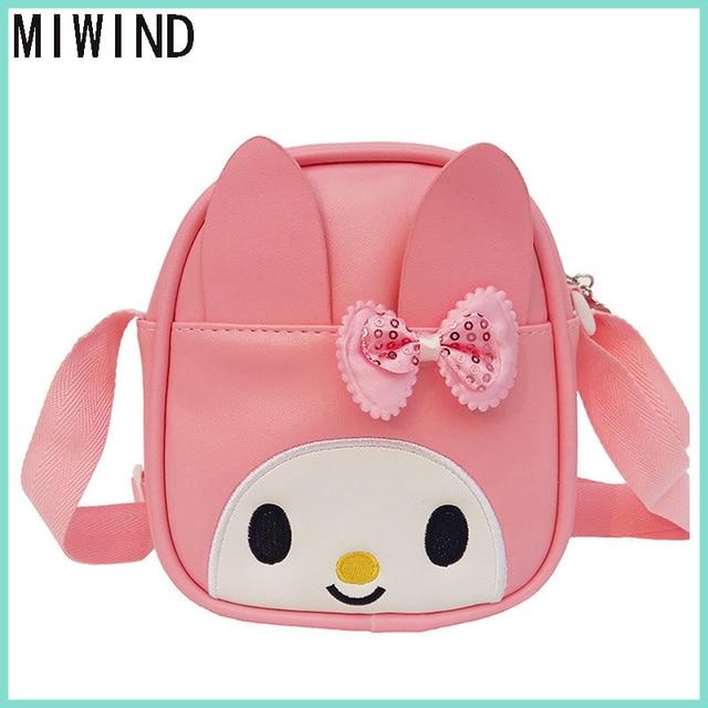 51dce0c30d MIWIND Cartoon Kids School Bags For Children Girl School Backpacks For  Kindergarten Baby mochila Infant School Bags TSY1376