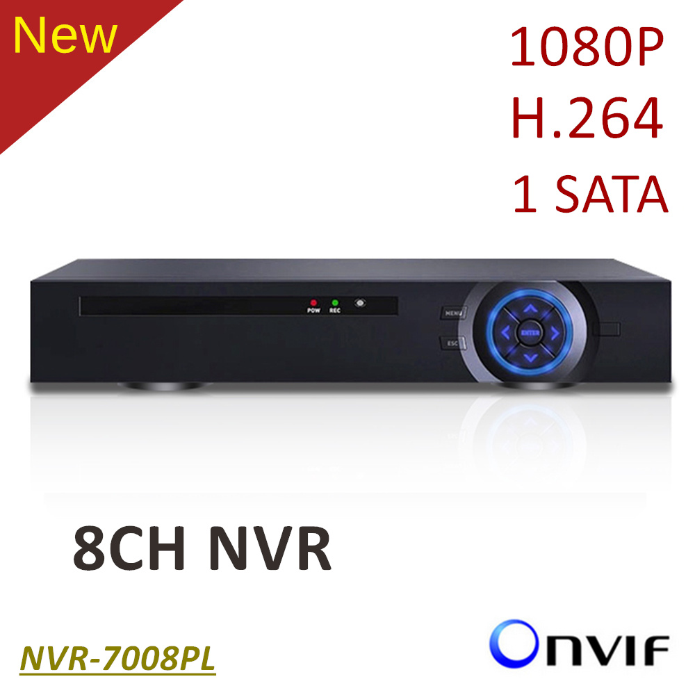 ElitePB NVR 8CH HD1080P H.264 1 sata CCTV IP Network Video Recorder Haisi Hi chip Support Onvif Remote Access by mobile phone