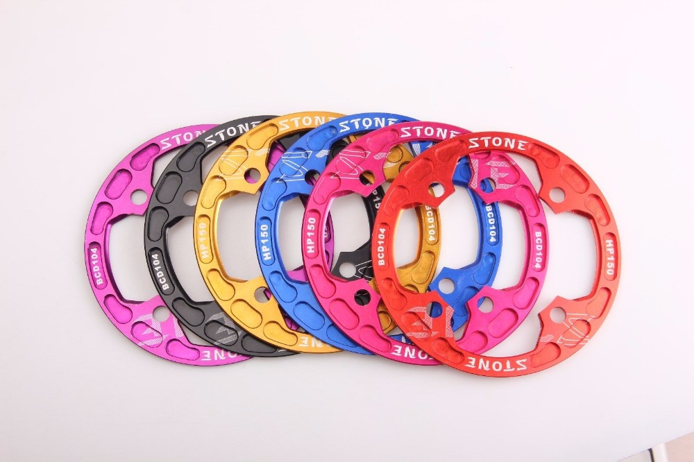 Bicycle BCD104 Chainring Bash Guard fit 30T to 36T for XC FR AM DH Bike