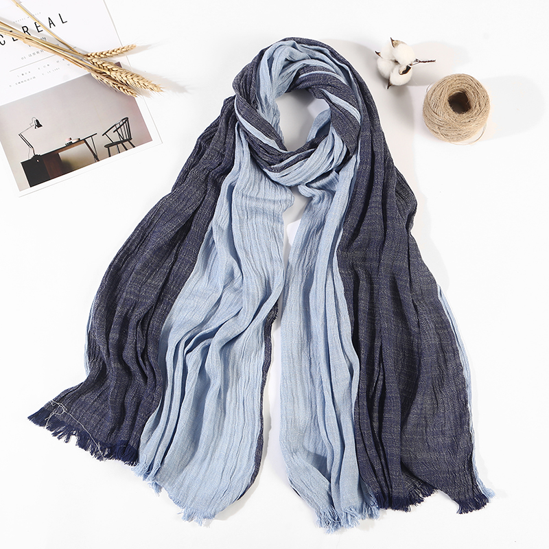 New Arrival solid Bufandas Mens Scarves Fashion Brand New Arrival solidplain Scarf Spring Autumn Warm Soft Shawls Cotton Scarves