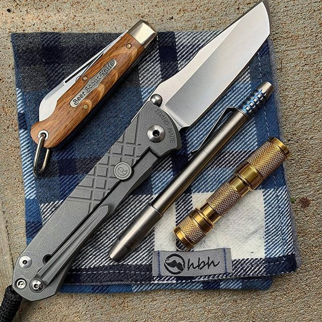 Titanium Deep Carry Clip for Chris Reeve Knives Large Inkosi Sebenza 25