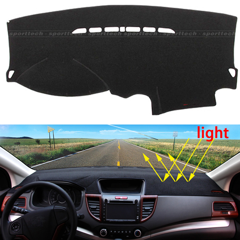 Car dashboard Avoid light pad Instrument platform desk cover Mats Carpets Auto accessories for Ford focus 2005 - 2016 special car trunk mats for toyota all models corolla camry rav4 auris prius yalis avensis 2014 accessories car styling auto