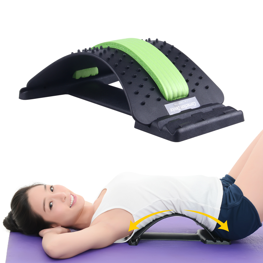 KLASVSA Back Massager Magic Stretcher Equipment Stretcher Relax Mate Lumbar Support Spine Pain Relief Acupuncture Chiropractic hot selling laser acupuncture back pain relief machine home remedy page 5