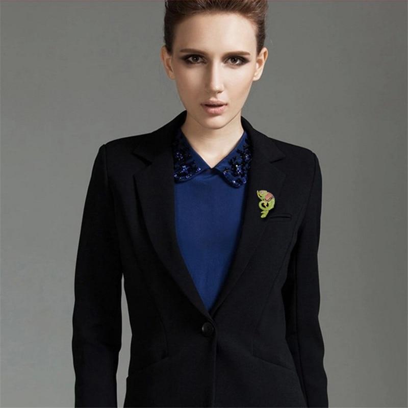MZC Hot σαύρα Femme Crystal Rhinestone Καρφίτσες για - Κοσμήματα μόδας - Φωτογραφία 5