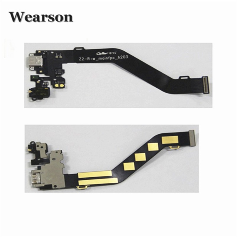 For Lenovo ZUK Z2 PRO USB Connector Earphone Port Flex Cable Main FPC 100% Original New Free Shipping With Tracking Number