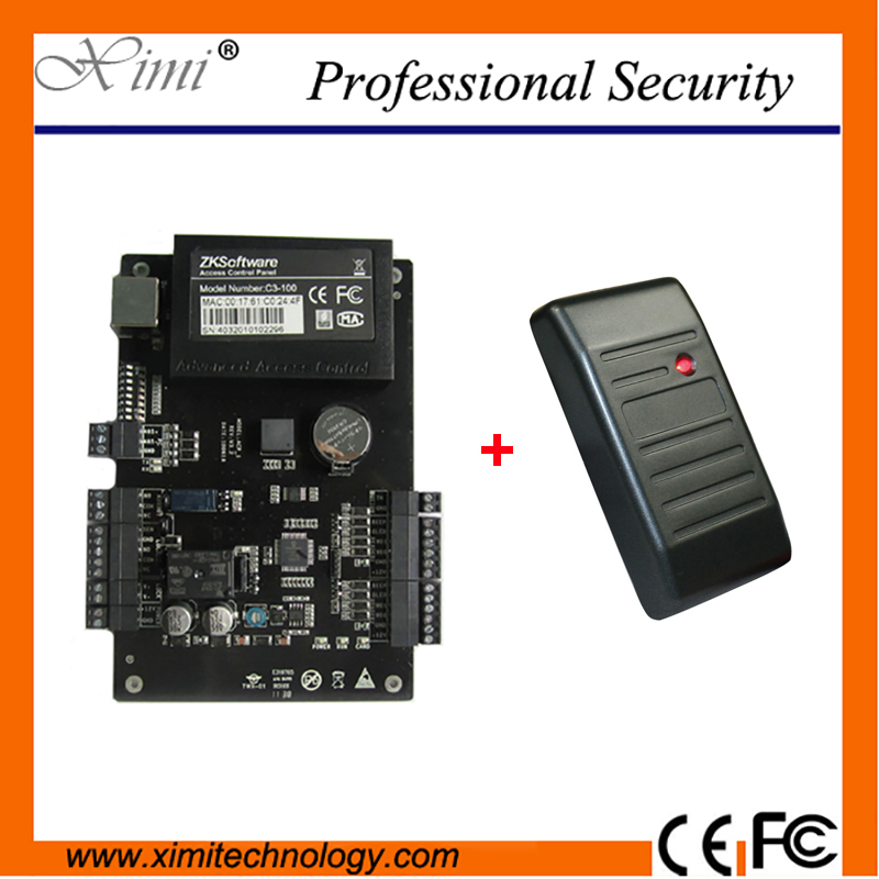 Good Quality Professional One Door Access Control Panel With WG Card Reader Smart RFID Card Door Access Control System waterproof ic card reader door access control system rs485 232 output