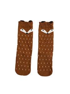Cartoon Cute Kids Cotton Socks Hosiery Animal Baby Cotton Sock Knee High Long Legwarmer Cute Socks Boy Girl Children socks 0-6 Y