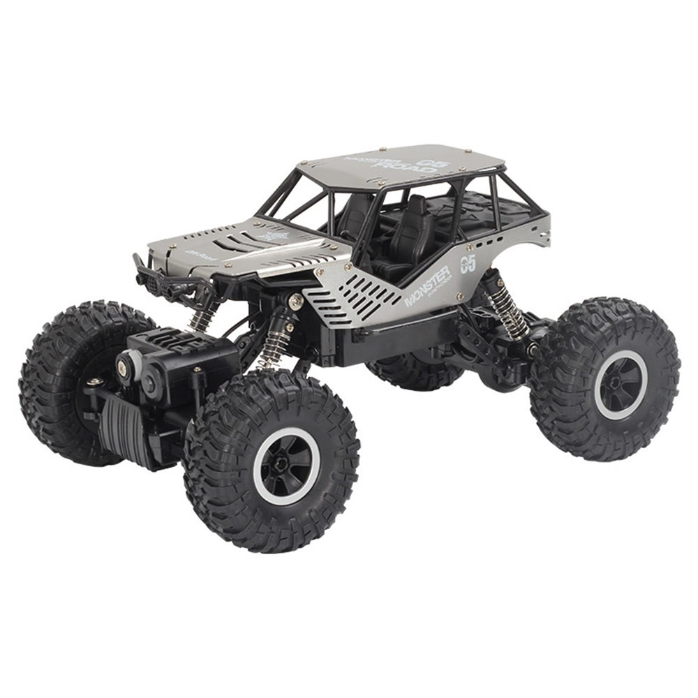 Super alloy Rc car off road vehicle 4wd high speed big foot climbing car crawler type climbing car remote control toy-in RC Cars from Toys & Hobbies