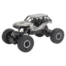 Super alloy Rc car off-road vehicle 4wd high speed big foot climbing car crawler type climbing car remote control toy flytec 9118 rc cars 1 18 alloy 2 4g 4wd double magnetors high speed climbing rock car racing vehicle off road vehicle rc crawler