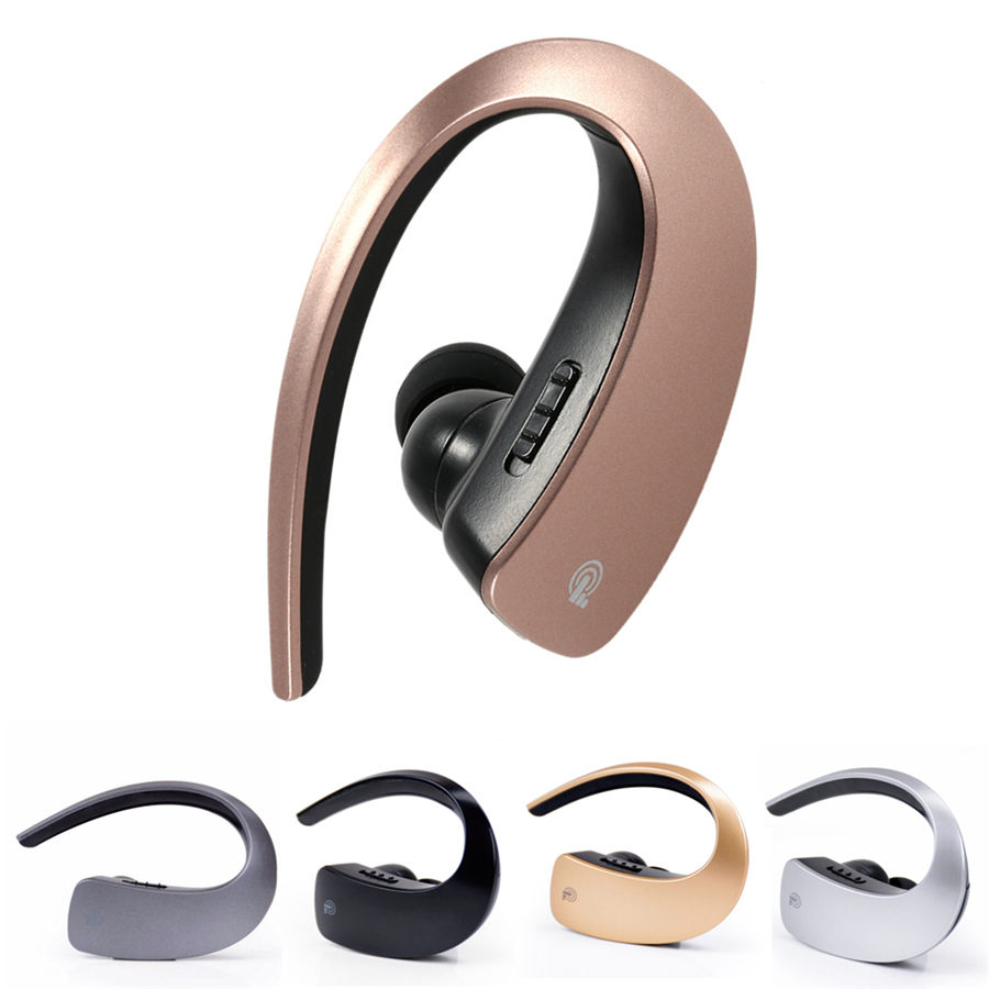 Mini Business Wireless Bluetooth Headset Noise Cancelling Earphones Sport Wearing Earphone With Mic Stereo For Xiaomi Samsung wireless bluetooth headset mini business headphones noise cancelling earphone hands free with microphone for iphone 7 6s samsung