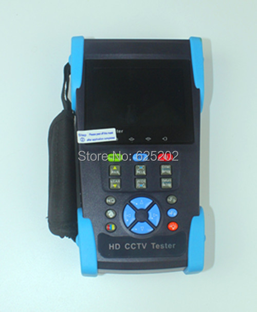 CCTV Tester for AHD CCTV Installation and Troubleshooting