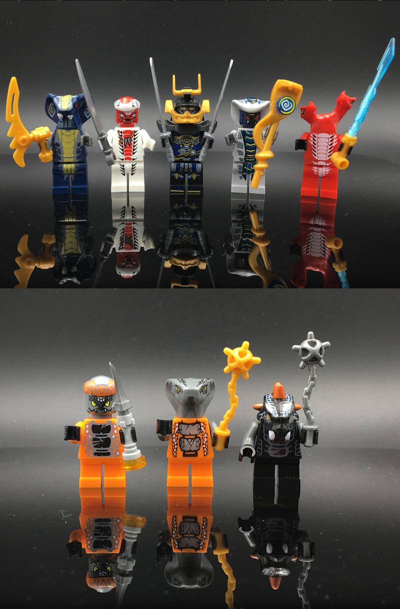 24 шт./лот ниндзя модель строительный блок классический фигура игрушечные нагрузки для детей подарки с ninjagoingly legoinglys кирпичи игрушечные нагрузки